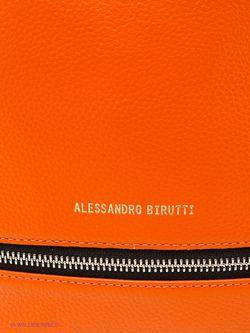 Сумки Alessandro Birutti                                                                                                              оранжевый цвет