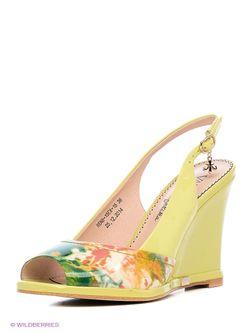 Туфли WESTFALIKA                                                                                                              желтый цвет