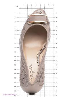 Туфли WESTFALIKA                                                                                                              серый цвет