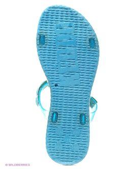 Шлепанцы Keddo                                                                                                              голубой цвет