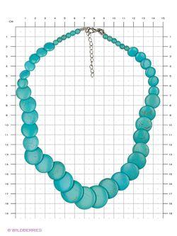 Колье Lovely Jewelry                                                                                                              Бирюзовый цвет