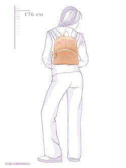 Рюкзаки Esse                                                                                                              Персиковый цвет