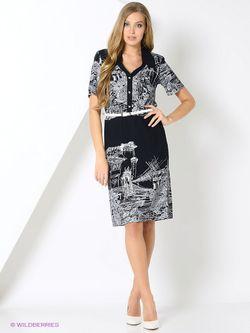 Платья L-design                                                                                                              синий цвет