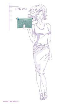 Клатчи Jane Shilton                                                                                                              Бирюзовый цвет
