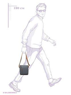Сумки Calvin Klein                                                                                                              серый цвет