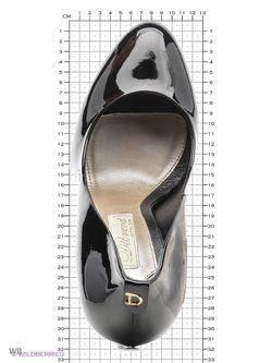 Туфли Dibrera                                                                                                              черный цвет