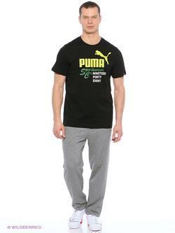 Футболка Puma                                                                                                              черный цвет