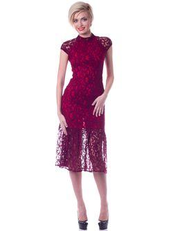 Платья OKS by Oksana Demchenko                                                                                                              красный цвет