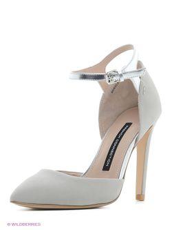 Туфли French Connection                                                                                                              серый цвет
