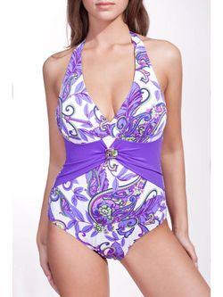 Слитные Купальники Bip-Bip                                                                                                              фиолетовый цвет