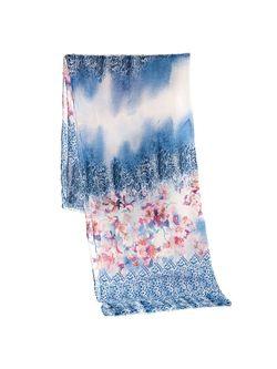 Палантины Mellizos                                                                                                              голубой цвет