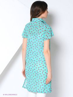 Платья La Fleuriss                                                                                                              Бирюзовый цвет