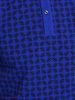 Поло Trussardi                                                                                                              синий цвет