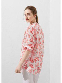 Блузки Violeta by Mango                                                                                                              розовый цвет