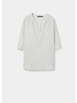 Блузки Violeta by Mango                                                                                                              белый цвет