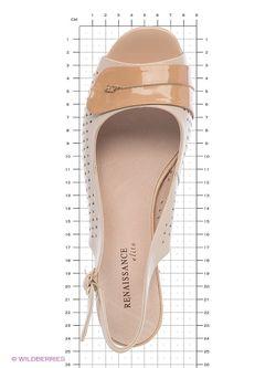Туфли Renaissance                                                                                                              бежевый цвет