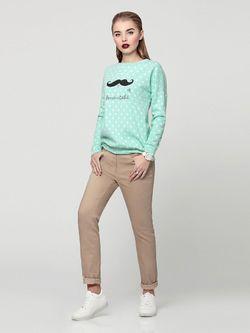 Джемперы PRIO                                                                                                              Бирюзовый цвет