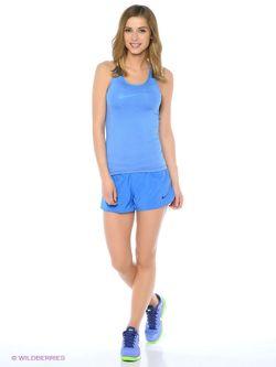 Топ Nike                                                                                                              голубой цвет