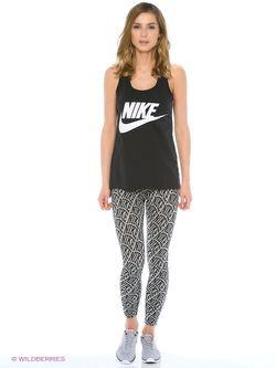 Топ Nike                                                                                                              черный цвет