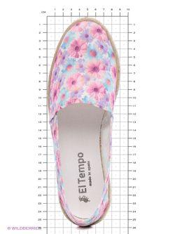 Эспадрильи El Tempo                                                                                                              фиолетовый цвет