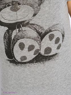 Футболка Oodji                                                                                                              серый цвет