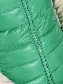 Жилеты Oodji                                                                                                              зелёный цвет