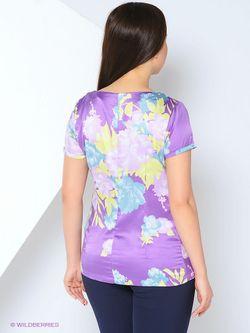 Блузки Oodji                                                                                                              фиолетовый цвет