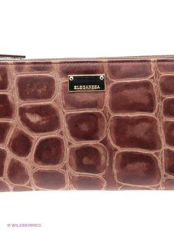 Кошельки Eleganzza                                                                                                              коричневый цвет