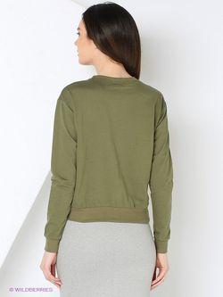 Лонгслив TOPSANDTOPS                                                                                                              зелёный цвет