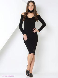Платья TOPSANDTOPS                                                                                                              чёрный цвет