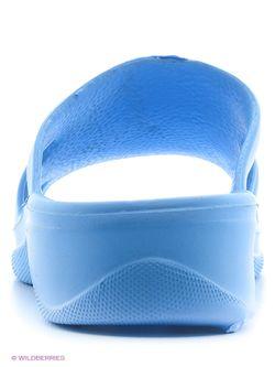 Шлепанцы Дюна                                                                                                              голубой цвет