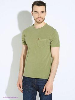 Футболка Levi's®                                                                                                              зелёный цвет
