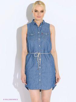 Платья Levi's®                                                                                                              синий цвет