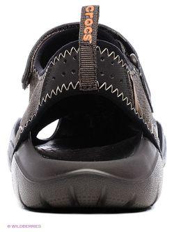 Сандалии Crocs                                                                                                              коричневый цвет