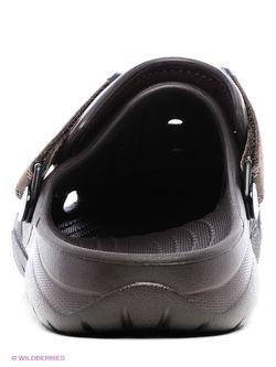 Сабо Crocs                                                                                                              коричневый цвет