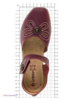 Туфли Inblu                                                                                                              Фуксия цвет