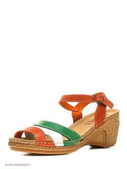 Туфли Inblu                                                                                                              зелёный цвет