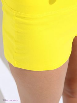 Шорты Oodji                                                                                                              желтый цвет