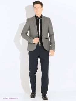 Пиджаки Oodji                                                                                                              серый цвет