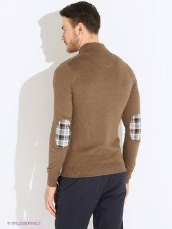Пуловеры Oodji                                                                                                              коричневый цвет