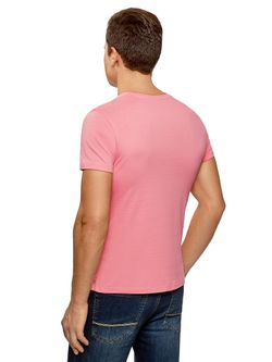 Футболка Oodji                                                                                                              розовый цвет