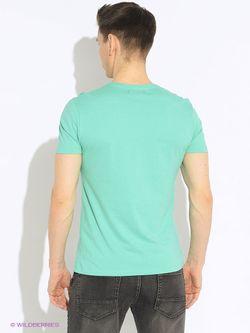 Футболка Oodji                                                                                                              зелёный цвет