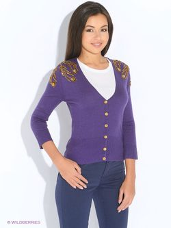 Жакеты Oodji                                                                                                              фиолетовый цвет