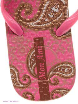 Шлепанцы Mon Ami                                                                                                              розовый цвет