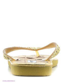 Шлепанцы Mon Ami                                                                                                              Золотистый цвет