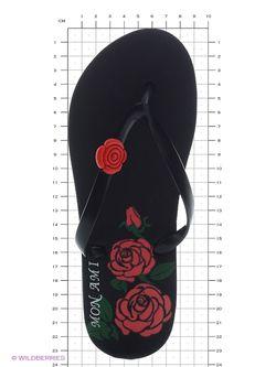 Шлепанцы Mon Ami                                                                                                              чёрный цвет