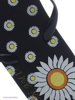 Шлепанцы Mon Ami                                                                                                              черный цвет