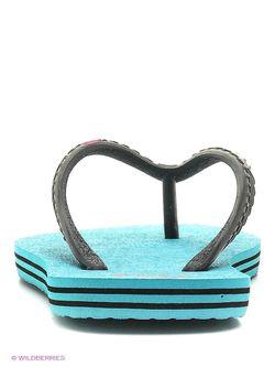 Шлепанцы Dc Shoes Dcshoes                                                                                                              голубой цвет
