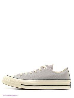 Кеды Converse                                                                                                              серый цвет