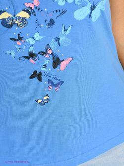 Футболка Finn Flare                                                                                                              голубой цвет